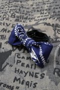 【Suicidal Tendencies】BANDANA CUSTOM BOWTIE / NAVY