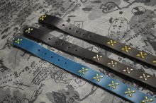 他の写真2: 【VENOM】QEE別注 CROSS STUDS BELT / BLUE x GOLD
