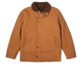 【BRIXTON】MAST JACKET / BROWNxCOPPER