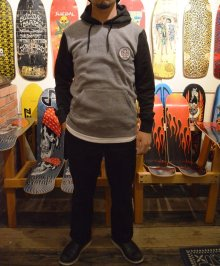 他の写真2: 【BRIXTONxINDEPENDENT】WILKINSON HOODED PULLOVER / HEATHER GREYxBLACK