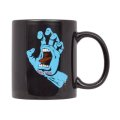 【Santa Cruz Skateboards】SCREAMING HAND MUG CUP / BLACK