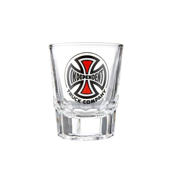 画像1: 【INDEPENDENT TRUCKS】TRUCK Co. 3oz SHOT GLASS / CLEAR