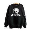 【SKULL SKATES】SKULL LOGO SWEAT / BLACK