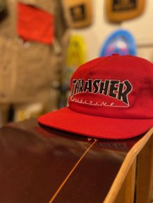 他の写真1: 【Thrasher Magazine】Outlined Snapback Cap / Red